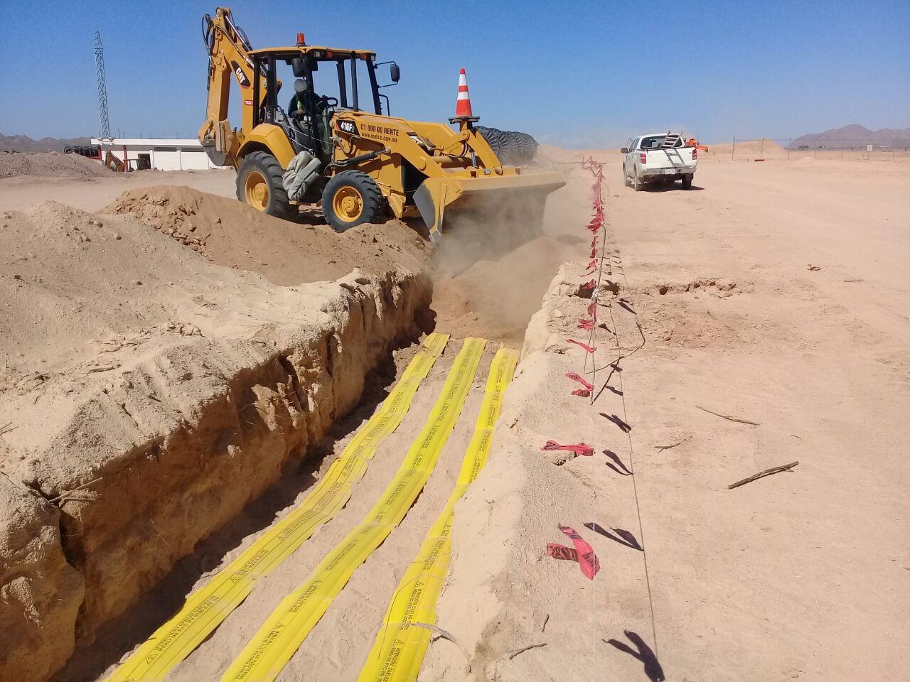 construcción de proyectos eólicos